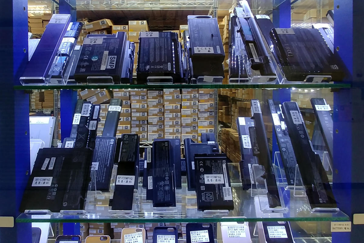Laptop batteries on sale