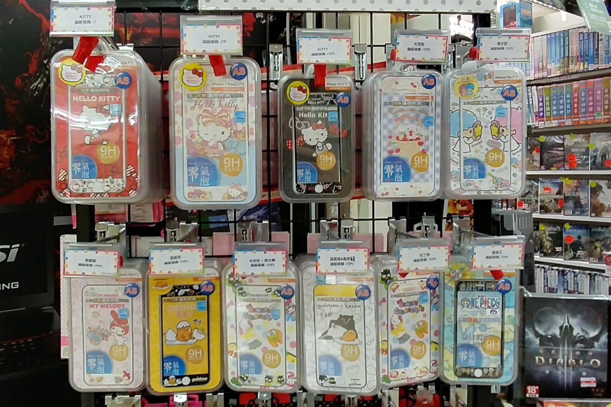 Hello Kitty smartphone cases