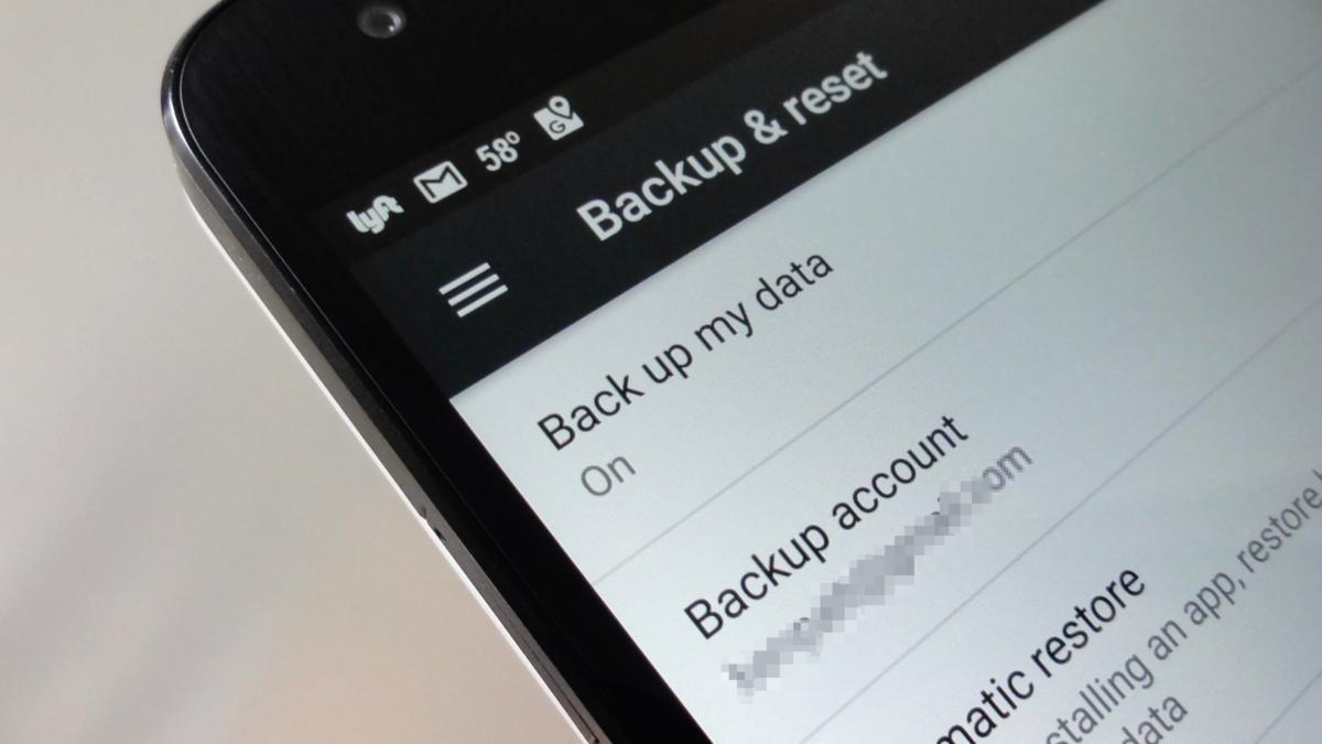 Keep your Android data backed up