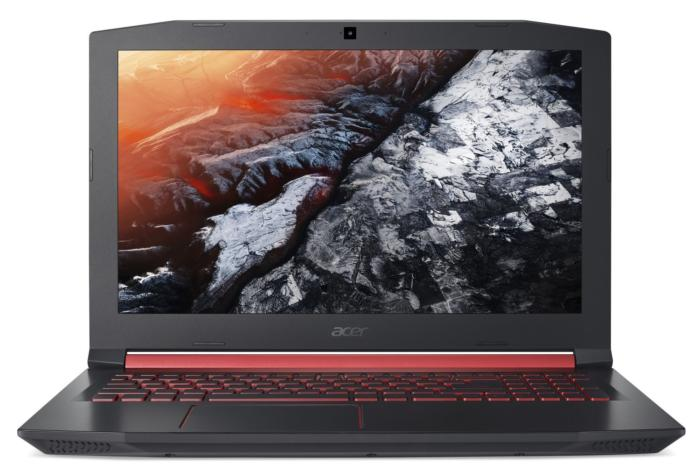 acer nitro 5 front view