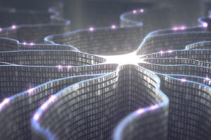 artificial intelligence / machine learning / binary code / neural network