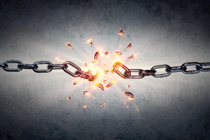 breaking chain / shedding constraints / breaking boundaries