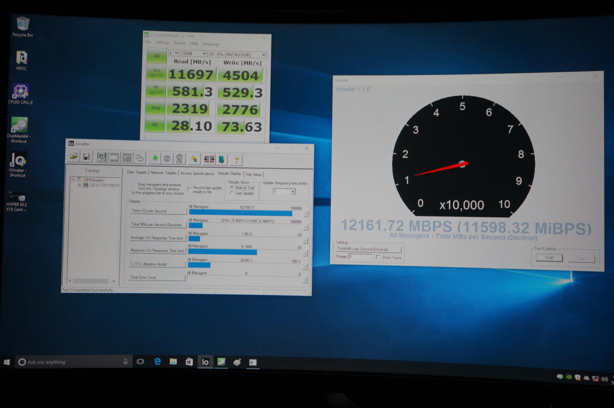 Intel's Core i9 and X299 enable crazy RAID configurations