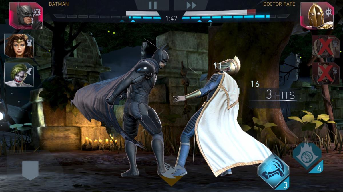 fft injustice2 combat