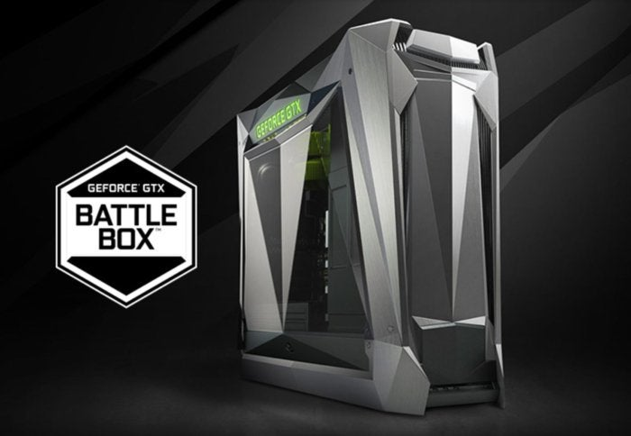 Nvidia's new generation of powerful GeForce GTX Battlebox ...