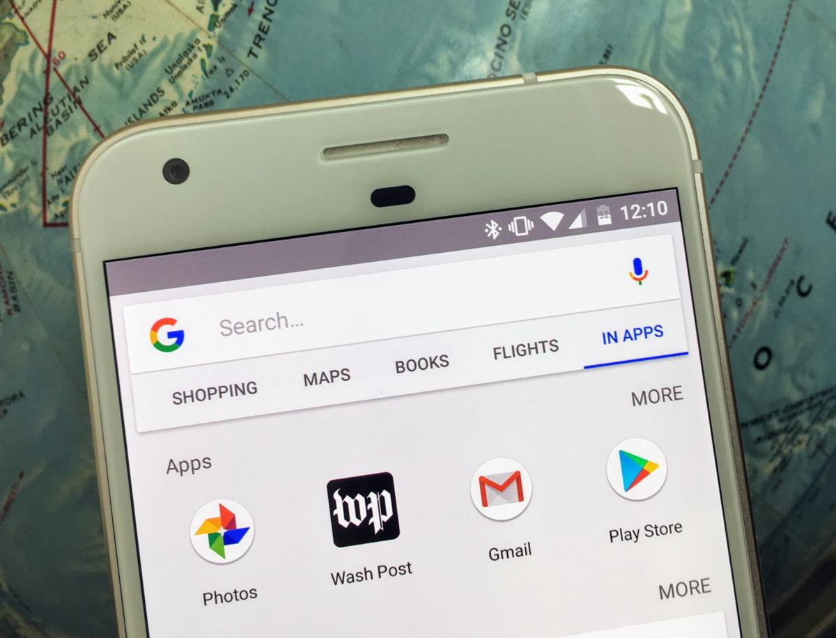 How to use Android's In Apps search to find your phone's content