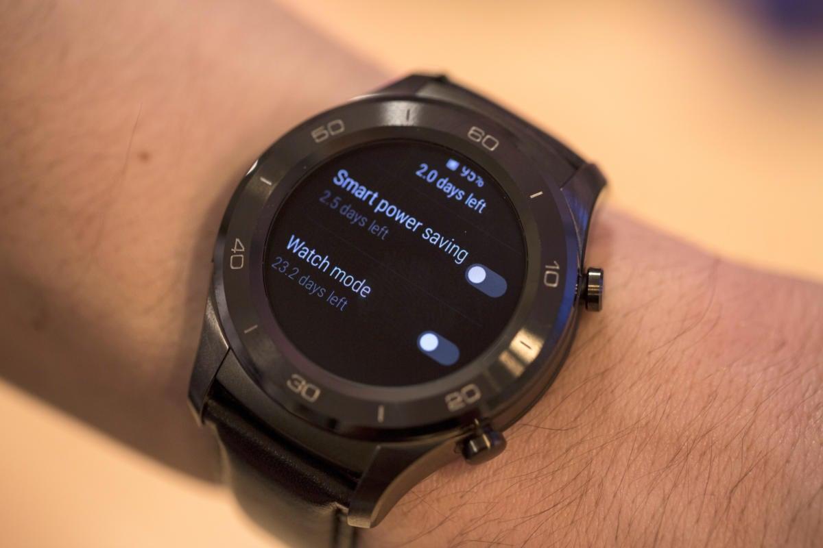 huawei watch2 battery