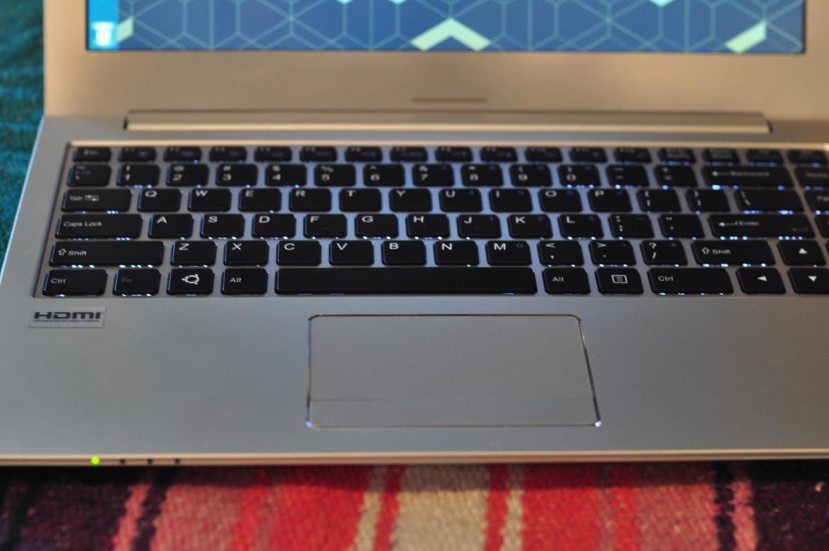 linux galago pro laptop keyboard