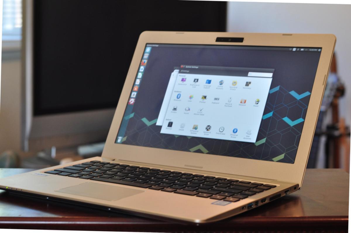 linux galago pro laptop shot