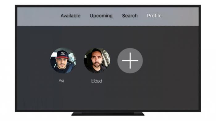 multiple users apple tv tvos