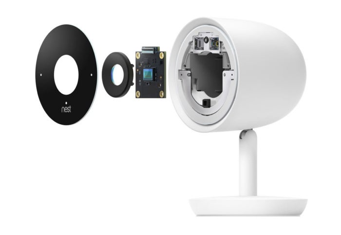 nest cam iq tear down