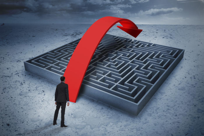 maze / goal