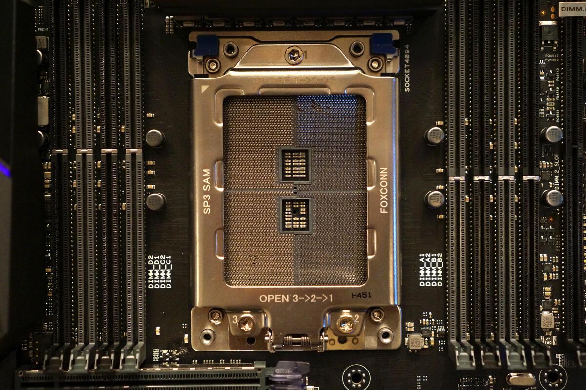 AMD's 'TR4' Threadripper CPU socket is gigantic