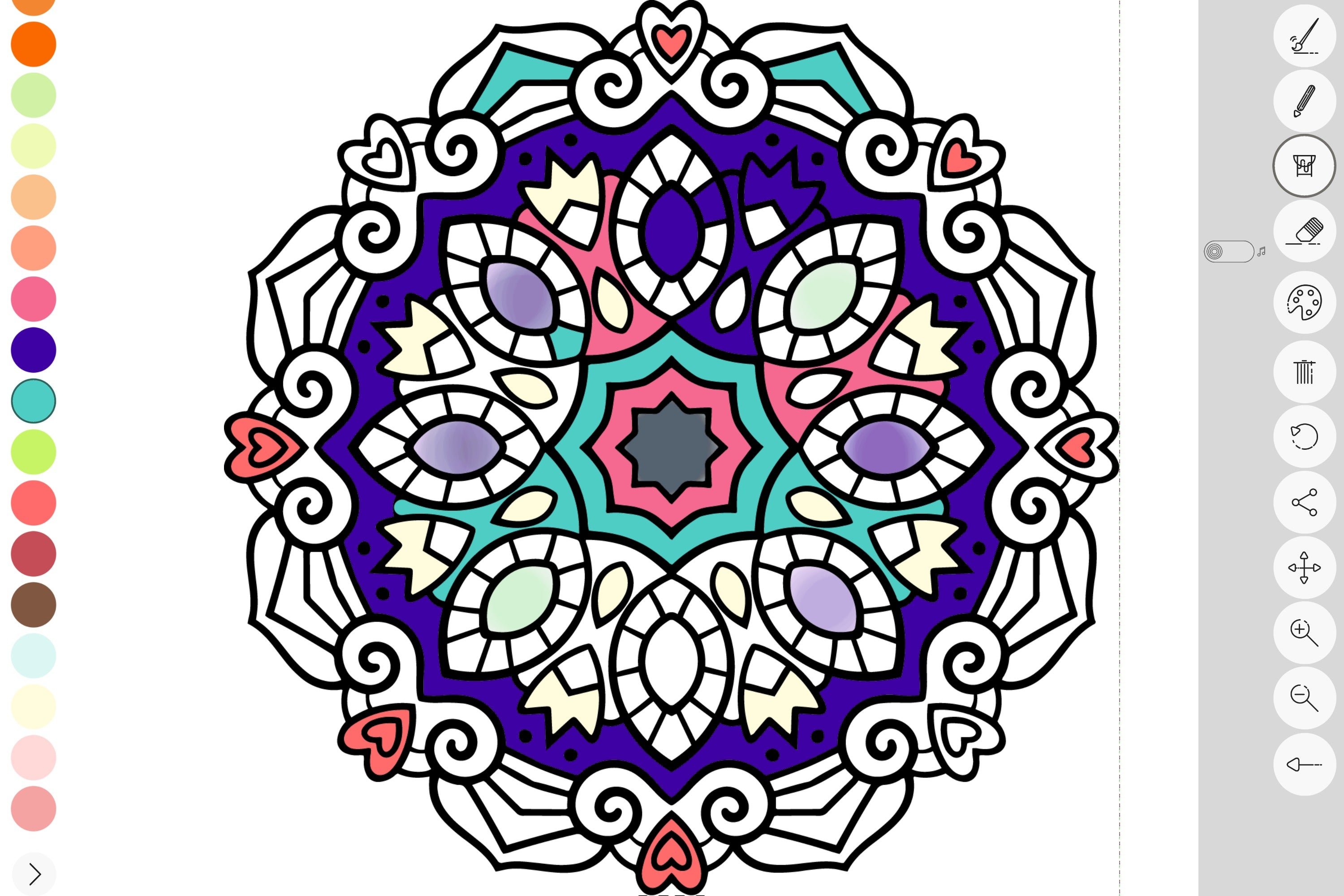 Zen coloring books for adults app - Zen Coloring Book For Adults