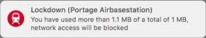tripmode2 lockdown warning