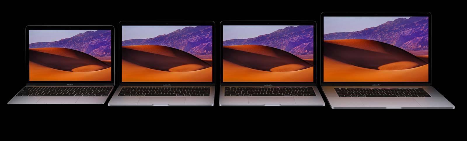 2017 mac laptop family stock