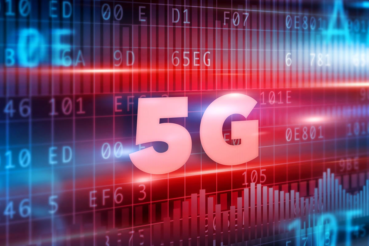 5g wireless mobile data connection