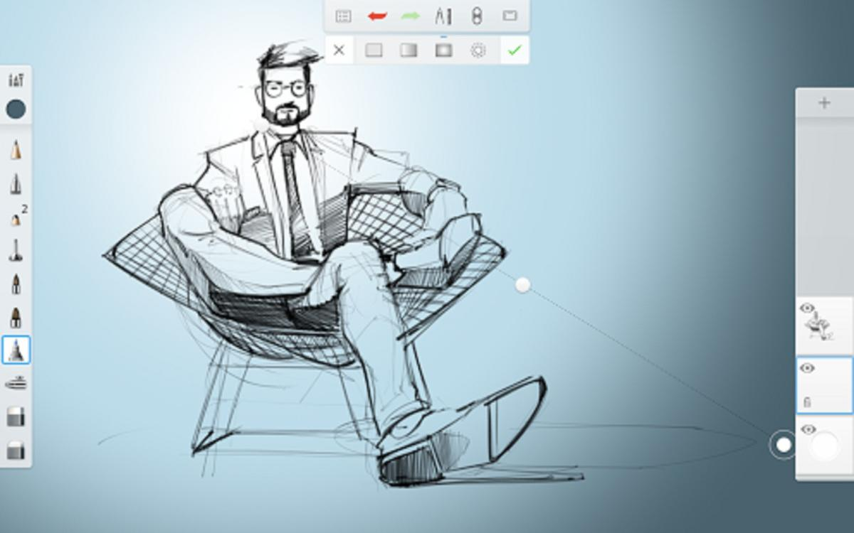 android apps chromebook adobe sketchbook