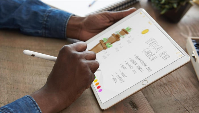 apple pencil ipad pro notes