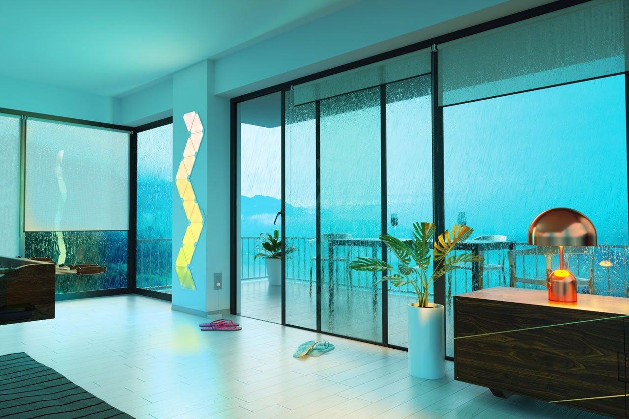 Nanoleaf Aurora review: Forget smart light bulbs, light up the wall ...
