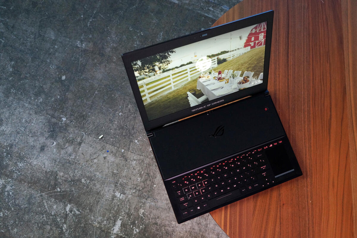 Hands-on: How the Asus ROG GX501 Zephyrus Performs with Nvidia's Max-Q Technology