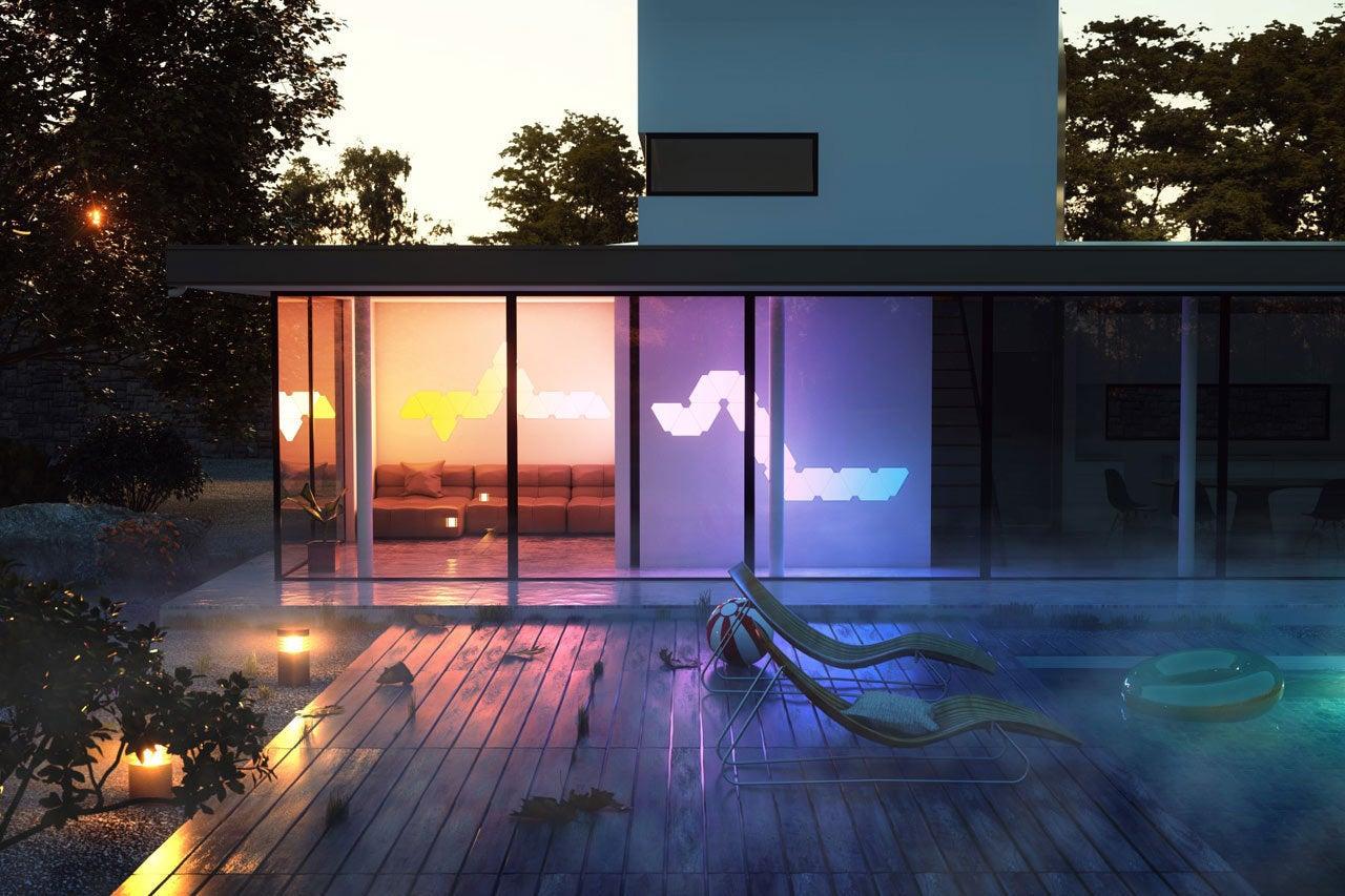 Nanoleaf Aurora Review Forget Smart Light Bulbs Light Up