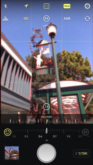 camera apps halide focus highlight