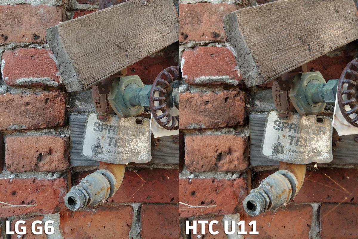 HTC U11 vs LG G6 camera test shot