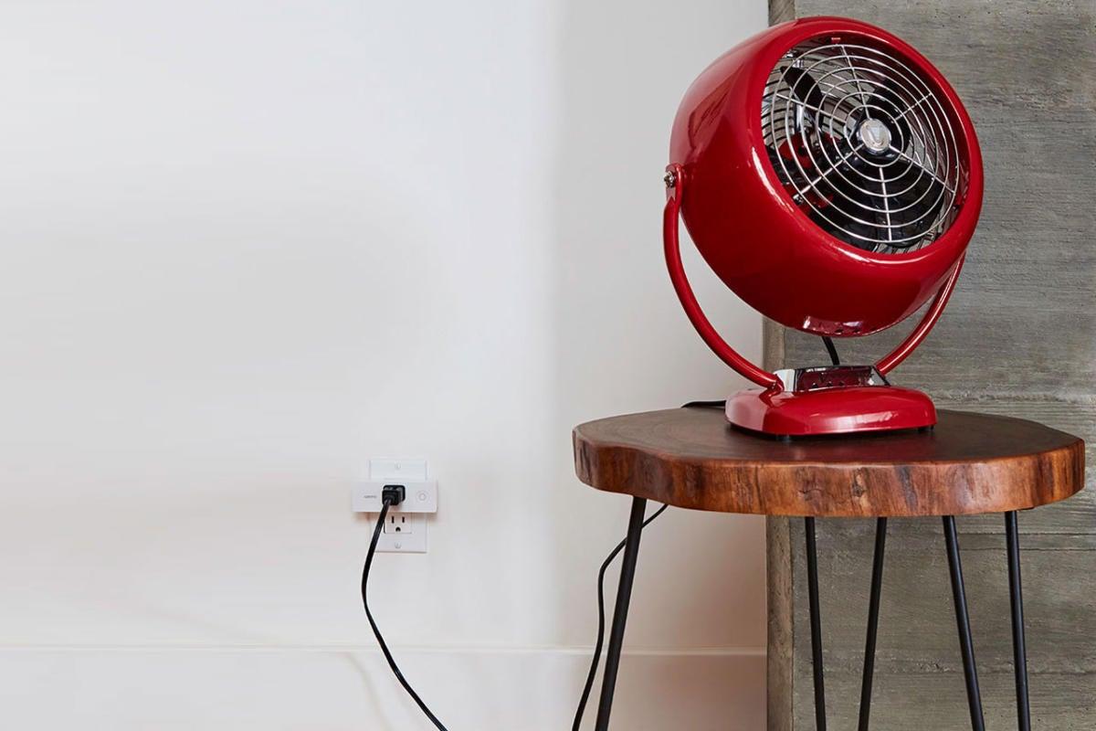 Fan plugged into Wemo Mini