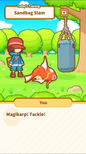 fft pokemon magikarp training