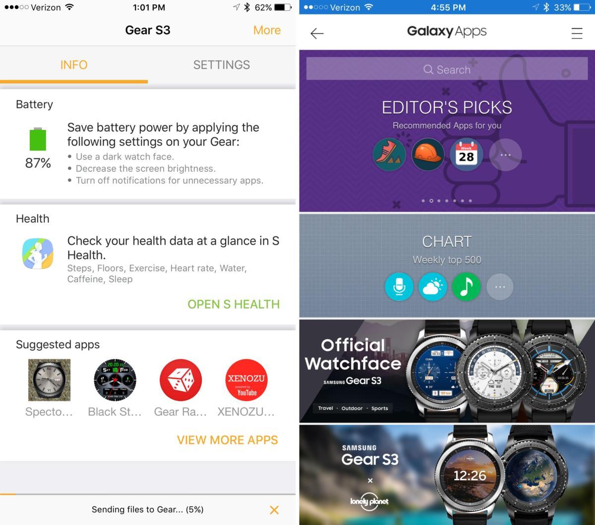 gears3 iphone app