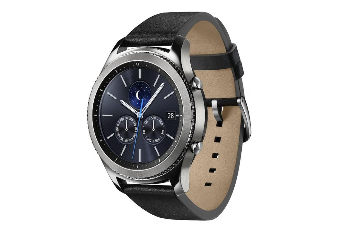 low priced f7da2 84cd0 How to use a Samsung Gear S3 smartwatch with an iPhone—and why you ...