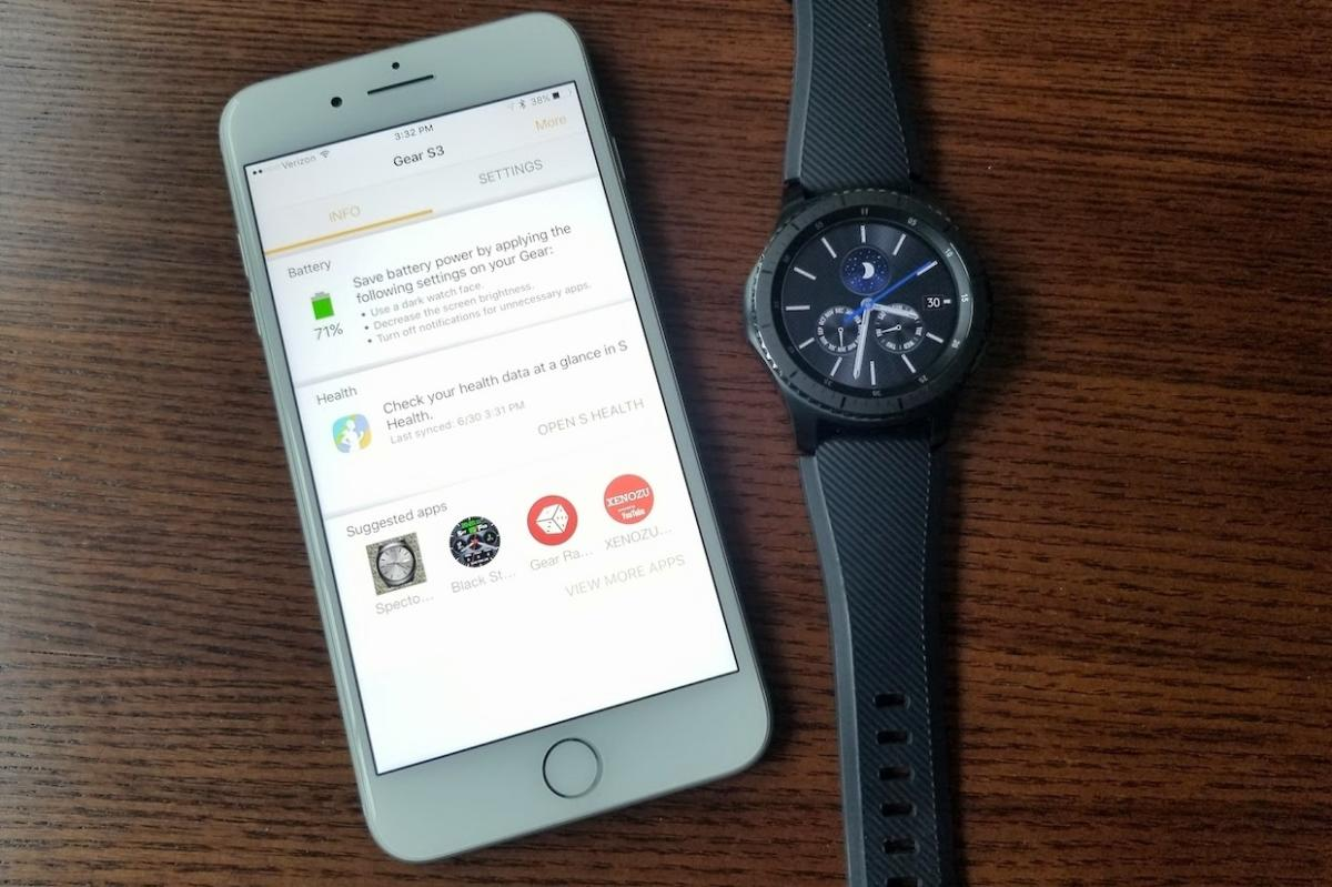 How to use a Samsung Gear S3 smartwatch with an iPhone—and why you