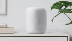 homepod white shelf