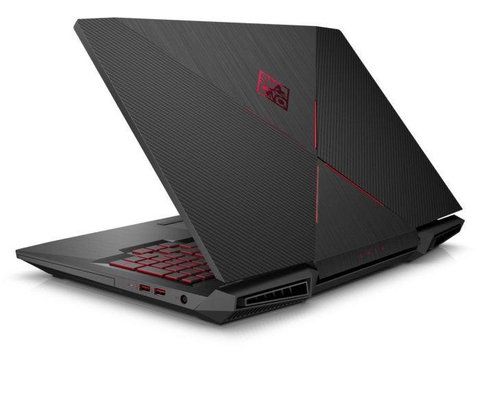 hp omen 17 laptop left rearquarter jun 2017