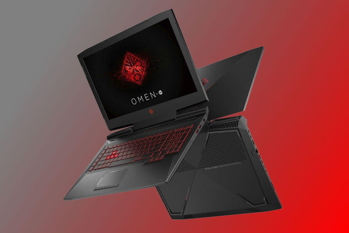 Hp Omen Laptops Include A First Nvidia Max Q Graphics Technology Pcworld