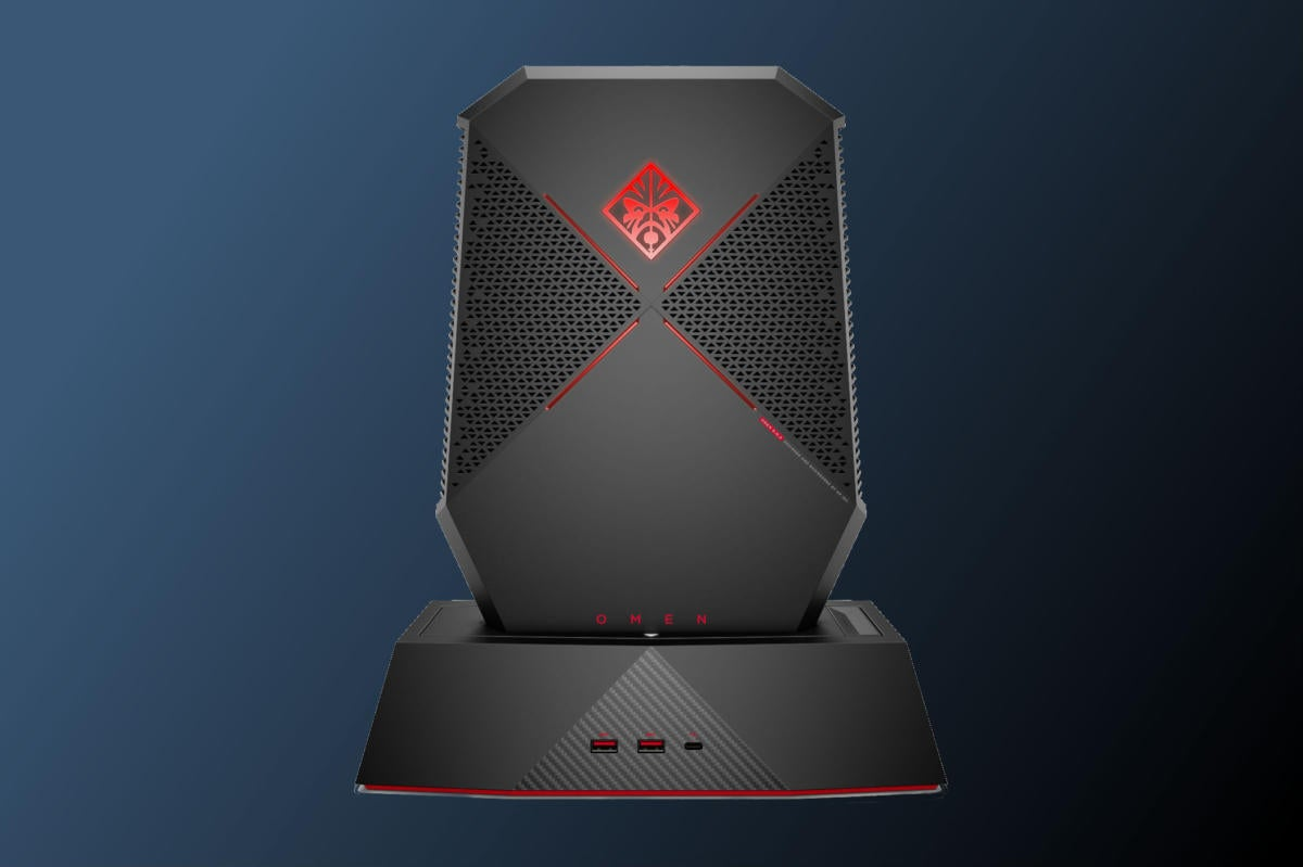 Hp 39 s omen x compact desktop can morph into a backpack vr for Portent vs omen