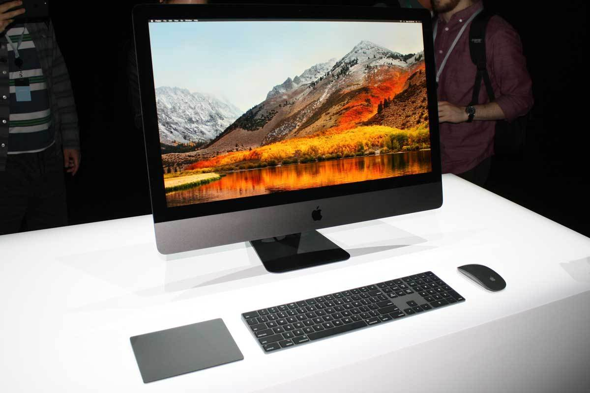 Up Close With The New Imac Pro In All Its Space Gray Glory
