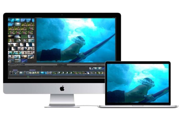 photo image Target Display Mode not supported by new iMacs
