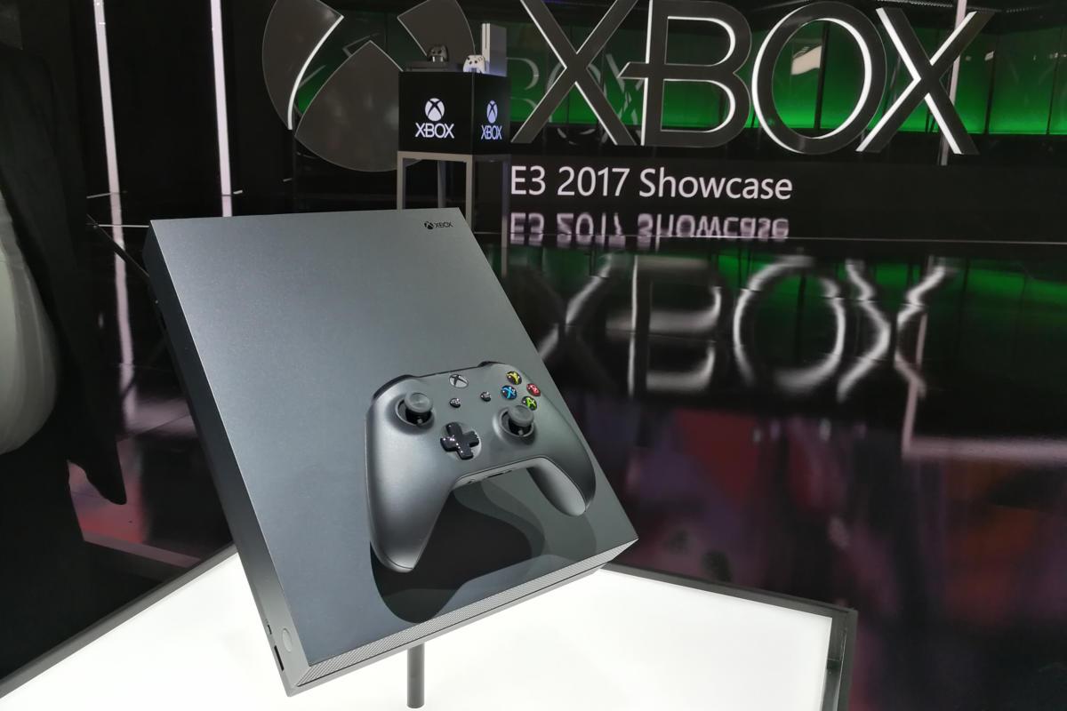 Xbox One X @ Xbox E3 Showcase