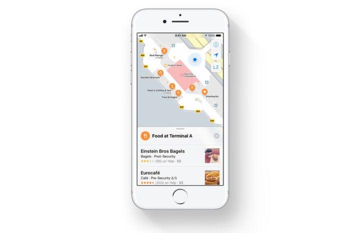 ios 11 indoor maps iphone