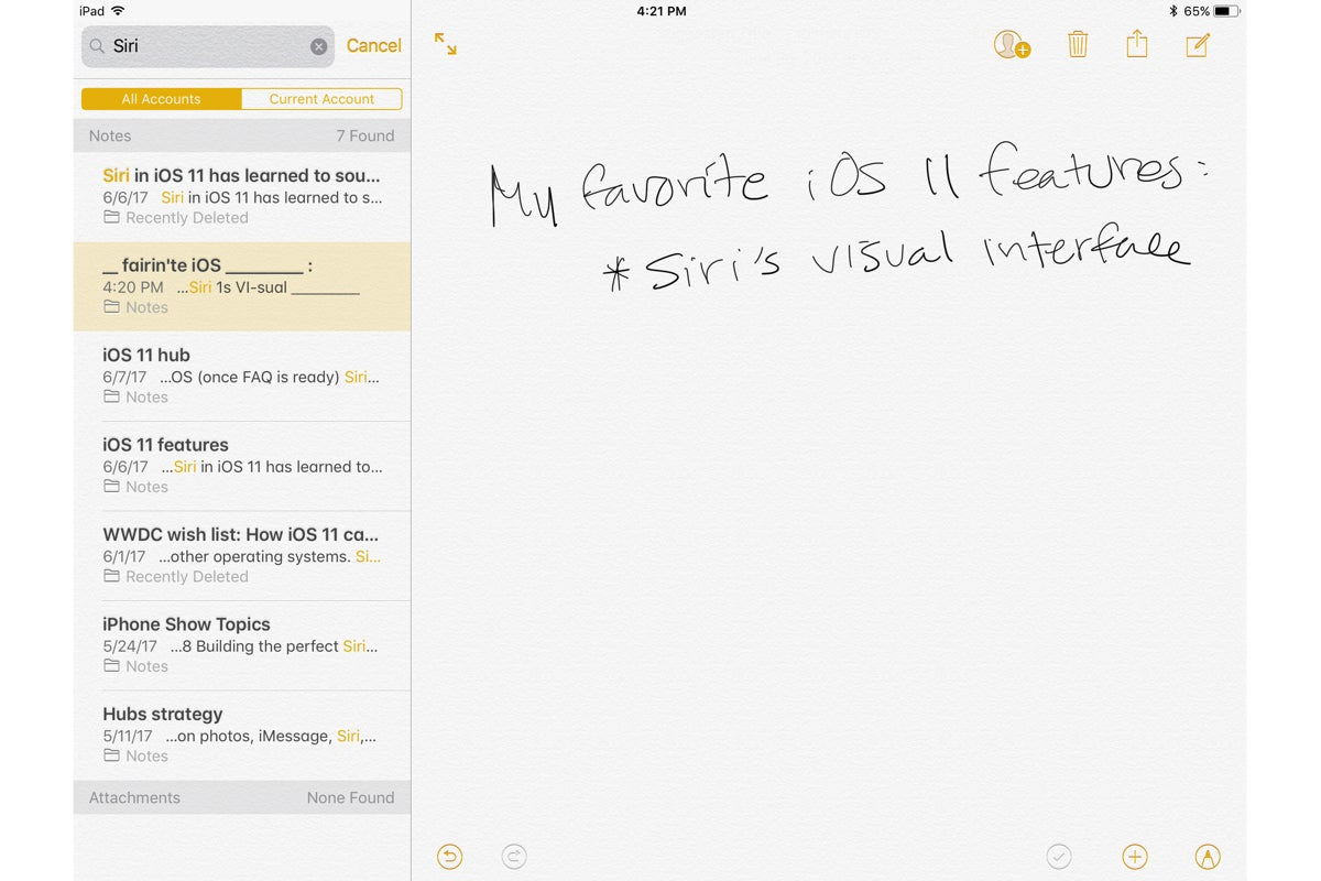 Make handwritten notes with text search in GoodNotes 4 ...