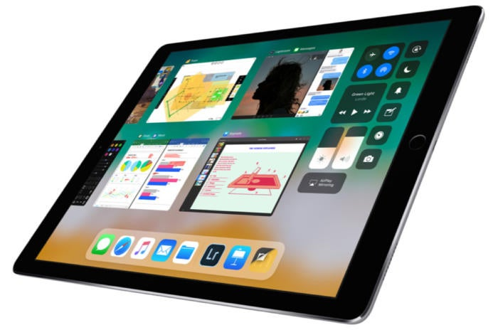 ipad pro ios 11 app switcher