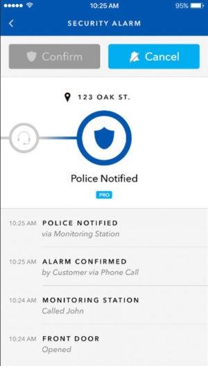 Iris alarm tracker