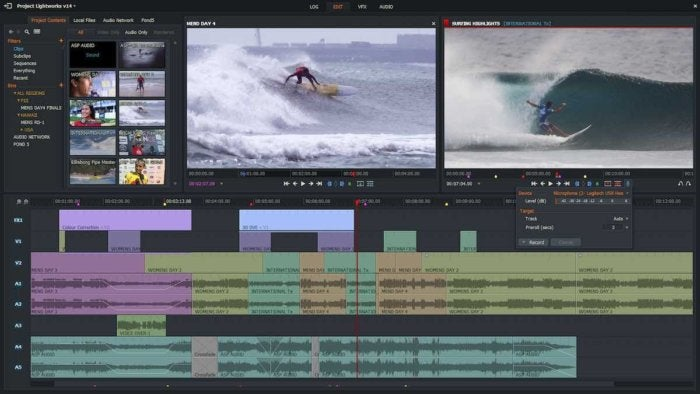 lightworks video editor linux
