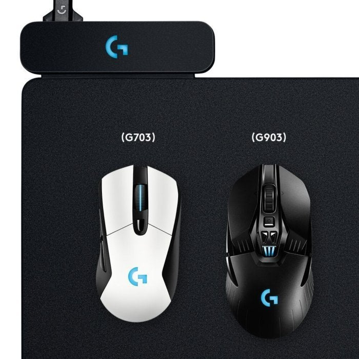 6d017279a91 Logitech's Powerplay mousepad wirelessly charges your mouse while ...
