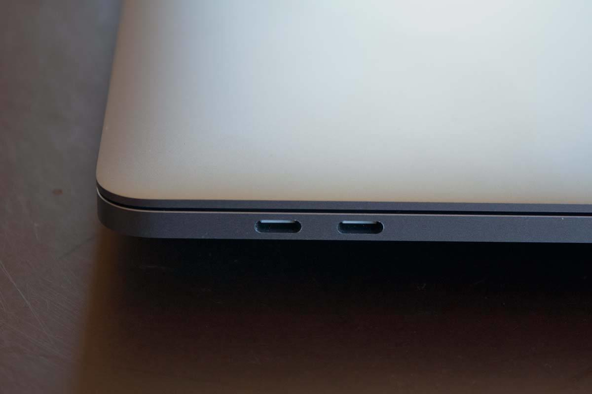 macbook pro 2017 15intbolt ports