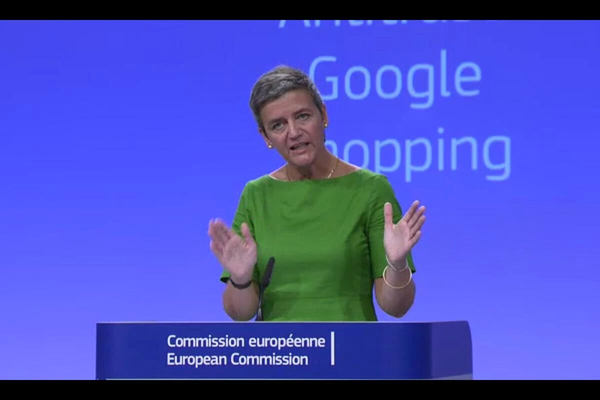 EU fines Google $2.72 billion, orders changes in search results