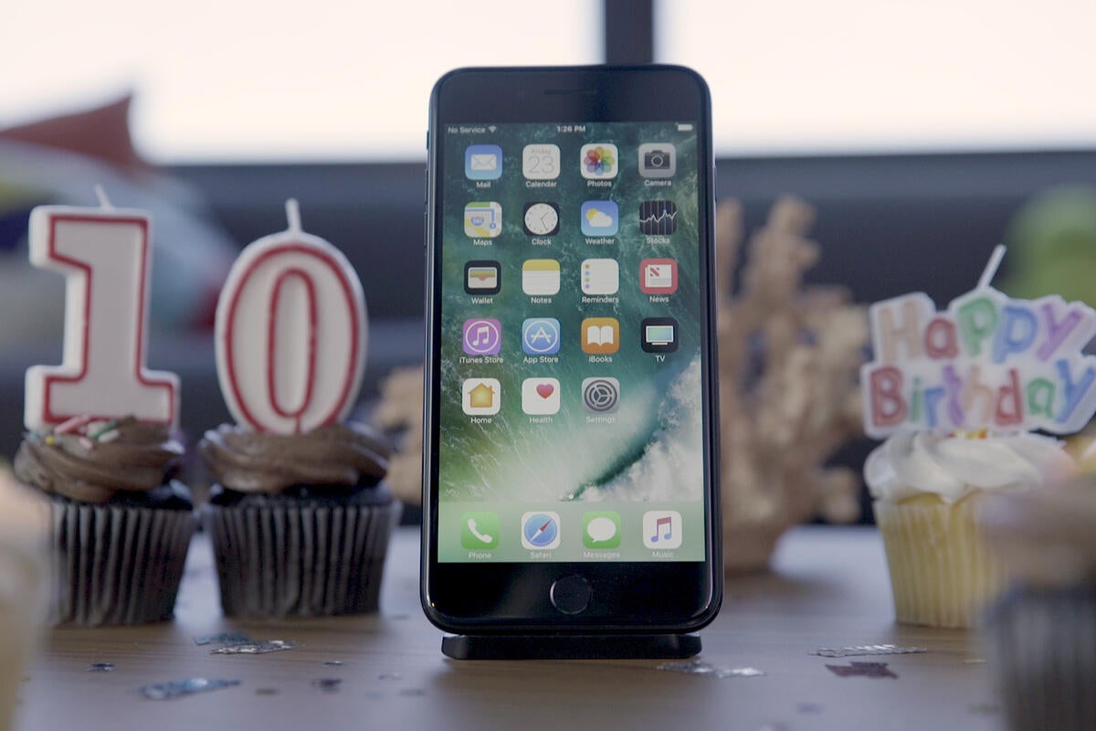 Watch the iPhone go through an existential crisis on its 10th birthday