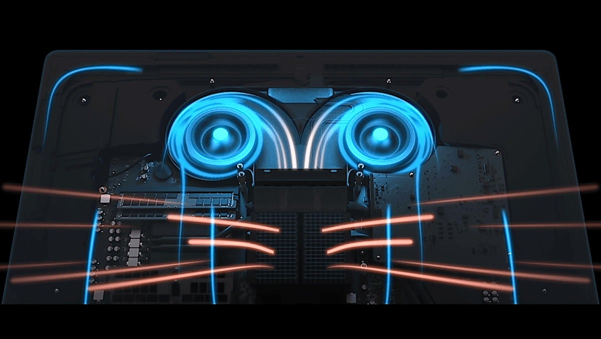 Apple - iMac Pro [2017] - thermal architecture / performance